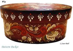 Beautiful Oval Box Package, One Of Our Best Sellers*FREE S\H* #1p #JoanDahlRosemaling