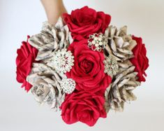 Paper flowers paper flower brooch bouquet wedding bouquet paper paper flowers paper flower brooch bouquet wedding bouquet mightylinksfo
