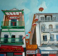 Carmen Stanescu - Google+ Paintings, City, Google, Painting, Draw, Portrait, Resim, Cities, Drawings