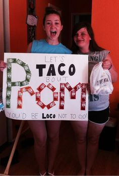 Taco Bell Promposals photo brianlogandales' photos - Buzznet