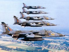 SEPECAT Jaguar, UK, Cold war