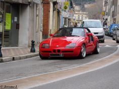 BMW Z1 Bmw Z1, Bmw Cars, Convertible, Automobile, Vehicles, Red, Super Cars, Cars, Fine Girls