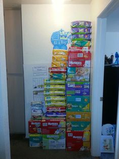 This is why you offer a diaper raffle at baby showers. The prize was a $50 gift card. - Imgur
