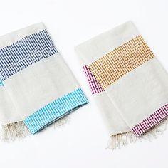 Dots Hand & Bath Towels by Creative Women