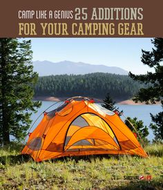 Camp Like A Genius | 25 Additions For Your Camping Gear