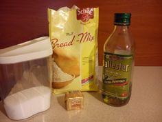 Najjednoduchší bezlepkový chlieb, ako robím ja (fotorecept) - obrázok 1 Snack Recipes, Snacks, Chips, Gluten Free, Bread, Food, Basket, Snack Mix Recipes, Glutenfree