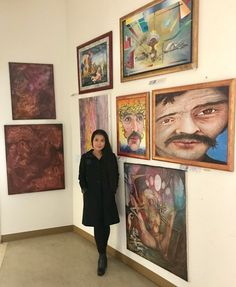 Yesterday i visited my friend Otto Rapp at his studio in Vienna. The meet up with Otto was very… by siamcat My Friend, Friends, I Am Amazing, The Real World, Cool Artwork, Real Life, Gallery Wall, Artist, Amigos