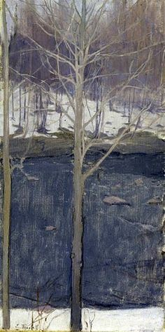 Ellen Thesleff (1869 – 1954) #tree #art