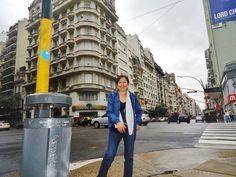 Caminando por la Av. Santa Fe-Buenos Aires