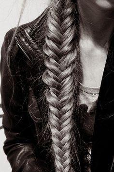 Fish-tail braids hair-style-i-love
