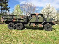 Custom Crew Cab 1992 Bmy 5 Ton Military Truck Humvee Deuce - Used Other Makes for sale in Loganville, Georgia 6x6 Truck, Gm Trucks, Diesel Trucks, Expedition Truck, Bug Out Vehicle, Antique Trucks, Armored Fighting Vehicle, Old Tractors, Heavy Truck