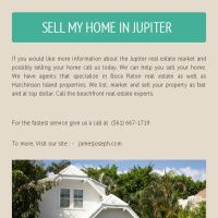Sell My House Fast CASH Jupiter Florida (561) 667-1719. We Buy House Really Fast CASH.Contact us today.