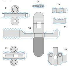 Skema rangkaian lampu led 220v belajar robot pinterest robot cara membuat robot dari kertas ccuart Gallery