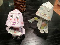 Paper robots at your service in Laurea Kerava Library