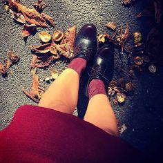Sempre più belli i nuovi #outfit autunnali!  E voi con cosa le indossate le #stringate #Kammi?  #KammiStyle #shoes #scarpe #inverno