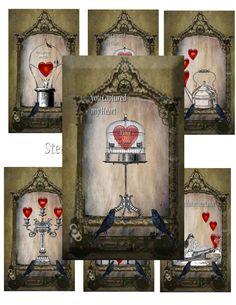 Steampunk Victorian Valentine's DIY instant by Raidersofthelostart, $3.50