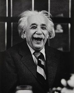 Albert Einstein at Princeton, 1953. Photo by Ruth Orkin