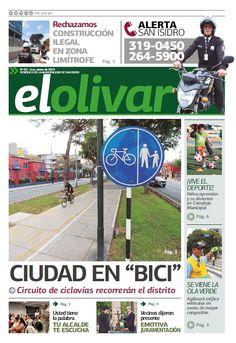 """Periódico """"El Olivar de San Isidro"""" N° 1 - Febrero 2015"""