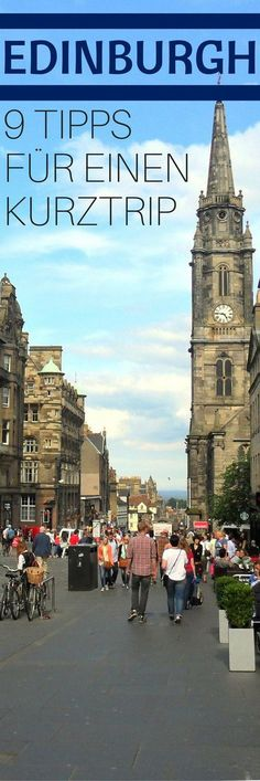 9 Tipps für einen Kurztrip nach Edinburgh