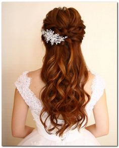 Wedding Hairstyles Half Up And Half Down (34)