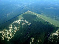Rtanj mountain, eastern Serbia. Highest peak Šiljak is interesting because of the pyramidal shape, with many legend related to it.