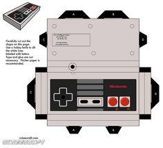 Papercraft NES