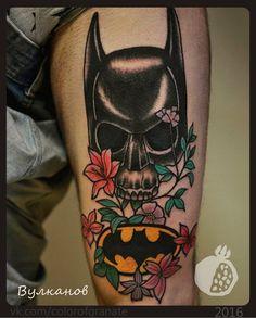 """I'm whatever Gotham needs me to be"". За что боролся, на то и напоролся. Василий Вулканов.тату студия ""Цвет Граната"" г. Краснодар #tattoo #tattoos #colorofgranate #coptattoo #krasnodartattoo #tattookrasnodar #krd #тату #цветграната #татукраснодар #краснодар #татустудия #batman #batmanisdead #oldschool #детствокончилось #татуировка #татуировкакраснодар #бэтмен #олдскул #татустудиякраснодар #tattooartist"