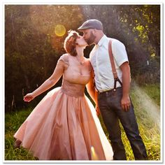 Pinup Fashion: True Love Retro Style. Would be a great photo idea for the hubby and me.