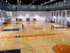 ARC basketball courts