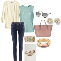"""""""Casual Spring"""" by mitika1980 on Polyvore"""
