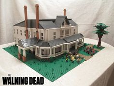 A LEGO MOC based on the main location for Season 2 of The Walking Dead. | Flickr - Photo Sharing!