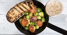 Scallops and Brussels in a Smoky Mussel Märzen Broth Recipe