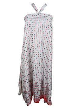 Mogul Womens Vintage Silk Sari Wrap Skirt White Print Rev... https://www.amazon.com/dp/B072556NFQ/ref=cm_sw_r_pi_dp_x_tIehzb9ZMB6SM