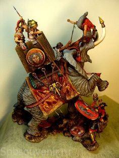 model carthaginian war elephant - Google Search