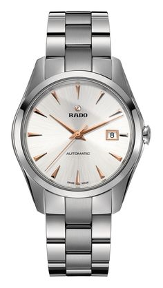 RADO Hyperchrome Automatic, rose gold indices watch. Made in Switzerland. R32115113. Authorized Rado Dealer. Free CDN shipping