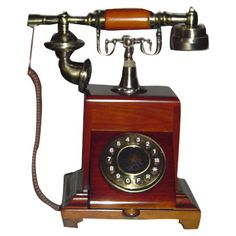 Antique Wooden Telephones products