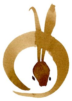 Marc Bauer-Maison - rabbit  I love the clean lines and the minimalist approach!
