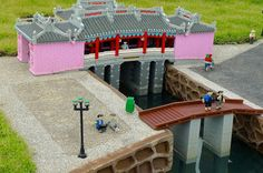 Hoi An, a city in Vietnam recreated using Lego bricks at Legoland Malaysia