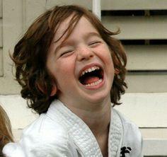 """ღ """"There's nothing more contagious than the laughter of young children; it doesn't even have to matter what they're laughing about."""" ― Criss Jami"""