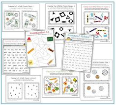 Occupational Therapy resources that address the visual perceptual visual scanning skills. Repinned by SOS Inc. Resources pinterest.com/sostherapy/.
