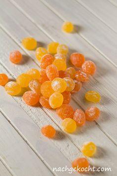 Zitronen- und Orangen-Bonbons