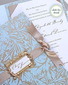 Absolute Perfection - The Wedding Planners: Baroque / Marie Antoinette Wedding Styles & Ideas
