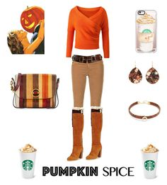 """PSL ❤"" by shanon-weedman on Polyvore featuring Casetify, WALL, AG Adriano Goldschmied, Tory Burch, Steve Madden, Ippolita and Jacquie Aiche"