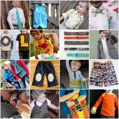 Make for Baby Boy: 25 of the Cutest & Coolest Free Tutorials for Boys' Clothing