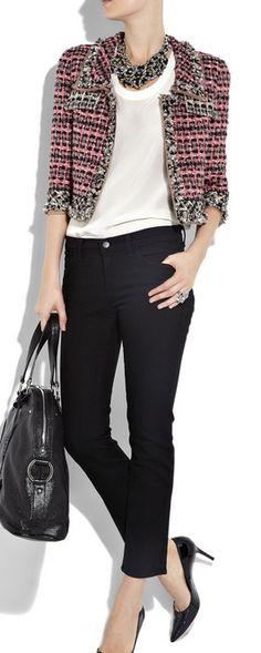 896790b15f8e 76 Best Chanel iconic jacket images   Chanel jacket, Chanel fashion ...