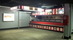 Old concession stand