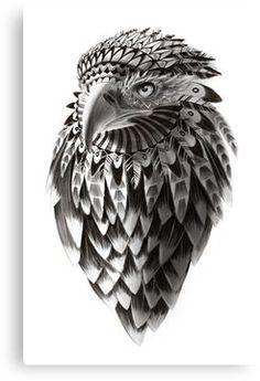 Fantasy American Eagle Fine Art Illustration / Print / Drawing / Black and White Shaman Eagle – Tatto Time Native American Tattoos, Native Tattoos, Maori Tattoos, Eagle Tattoos, Marquesan Tattoos, Body Art Tattoos, Tribal Eagle Tattoo, Indian Tribal Tattoos, Indian Tattoo Design