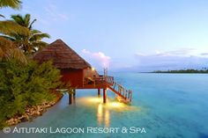 The Aitutaki Lagoon Resort & Spa is the only resort in the Cooks located on its own private island, and features the only Overwater Bungalows found in the Cook Islands.