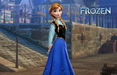 NEW PRINCESS ANNA FROM FROZEN