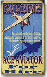 PERSONALIZED ACE AVIATOR WALL SIGN - Train Engineer also available